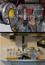 Motor v řezu - Trabant a Aerodynamický tunel
